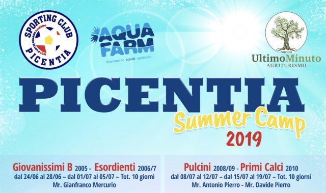 Picentia Summer Camp 2019: tutto quello che c'è da sapere!