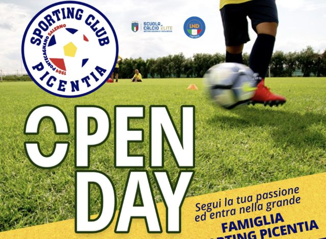 Open Day stagione sportiva 2019/20