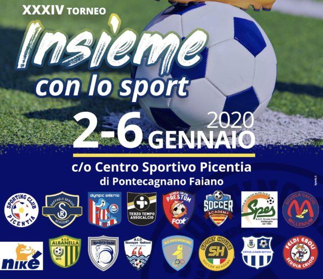 XXXIV torneo Insieme con lo Sport – squadre, gironi e calendari