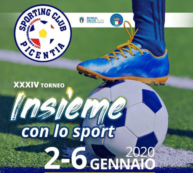 """Tutto pronto per la XXXIV edizione del torneo """"Insieme con lo Sport"""""""