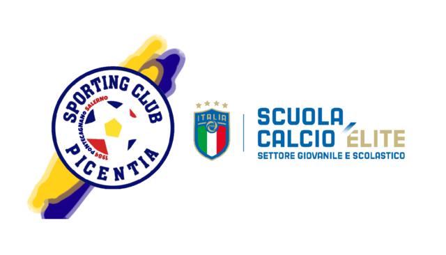 Scuola Calcio Elite: il Picentia si riconferma per il quinto anno consecutivo